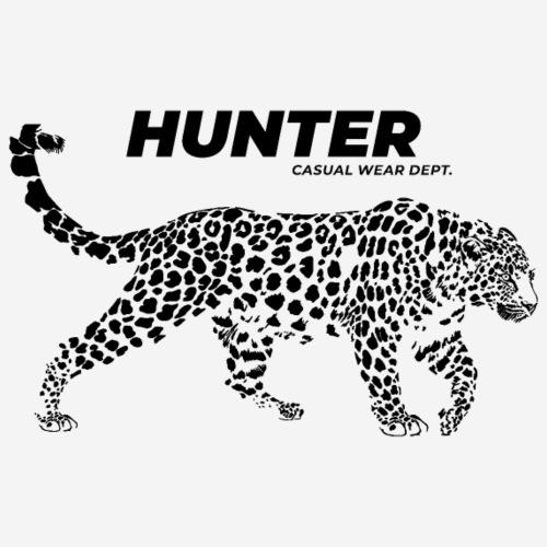 Leopardenjäger tragen - Männer T-Shirt atmungsaktiv
