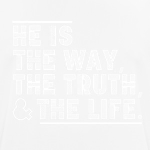Theway - TheTurth - thelife - Men's Breathable T-Shirt