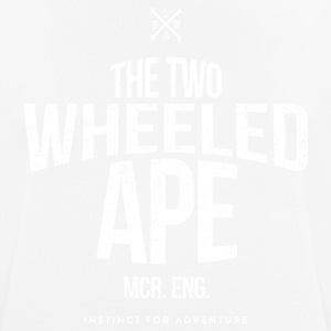Two Wheeled Ape Logotype Biker T shirt - Men's Breathable T-Shirt