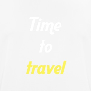 Time to travel - T-shirt respirant Homme