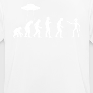 EVOLUTION ALIENS - Männer T-Shirt atmungsaktiv