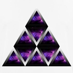Space Shape Pyramid - Andningsaktiv T-shirt herr