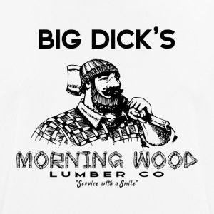 Morning Wood Timber Lumberjack - Andningsaktiv T-shirt herr