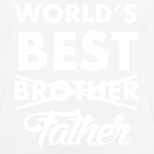 World's Best Father - Männer T-Shirt atmungsaktiv
