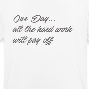 hardworkwillpayoff - Camiseta hombre transpirable