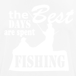 Best Days are spent Fishing - Fishing - Männer T-Shirt atmungsaktiv