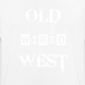 viejo oeste wired - Camiseta hombre transpirable