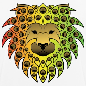 Ragga sound lion - Men's Breathable T-Shirt