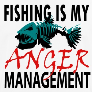 My Anger Management - Fishing - Men's Breathable T-Shirt