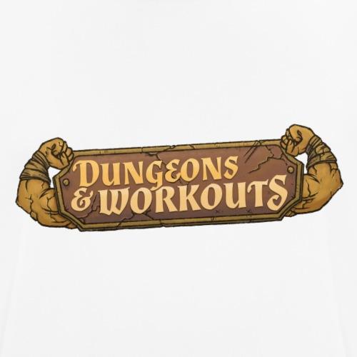 Dungeons & Workouts - Männer T-Shirt atmungsaktiv