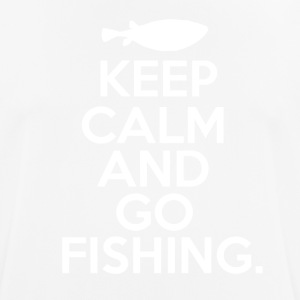 Keep Calm - Go Fishing - Männer T-Shirt atmungsaktiv