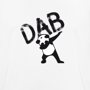 Dab dabbing panda bear slogan touchdown football hi - Men's Breathable T-Shirt