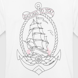 Sailing To You - mannen T-shirt ademend