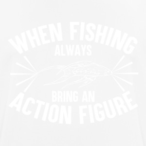 Fishing - Action Figure - Männer T-Shirt atmungsaktiv