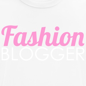 Fashion Blogger - Pustende T-skjorte for menn
