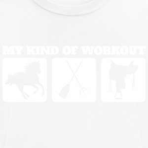 My kind of workout - Men's Breathable T-Shirt