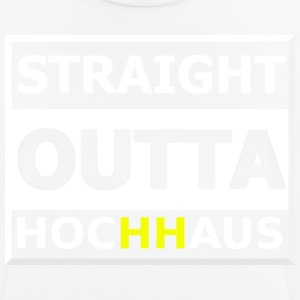 Straight Outta Hochhaus HH YELLOW - Men's Breathable T-Shirt