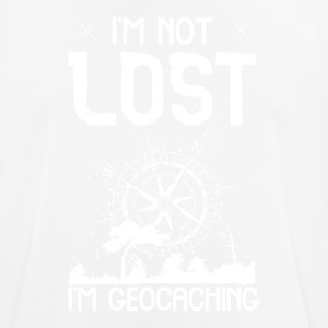 I'm Not Lost I'm Geocaching - Men's Breathable T-Shirt