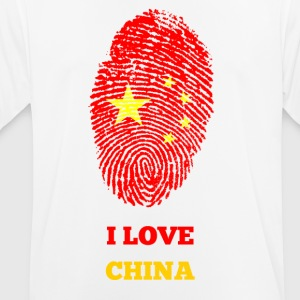 I LOVE CHINA - Men's Breathable T-Shirt