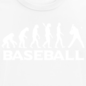 evolution BASEBALL vægt - Herre T-shirt svedtransporterende