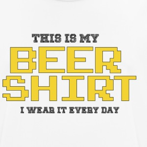 beer shirt - mannen T-shirt ademend