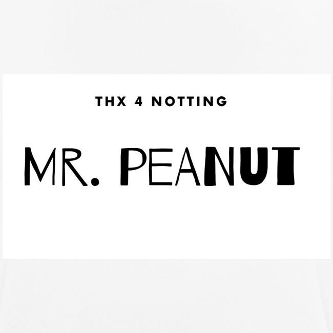 tschirt mit mr. peanut logo