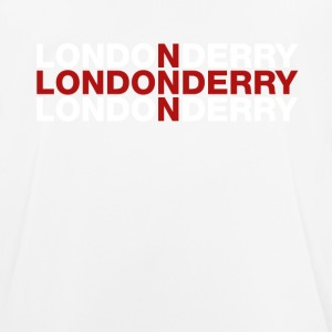 Londonderry United Kingdom Flag Shirt - Andningsaktiv T-shirt herr