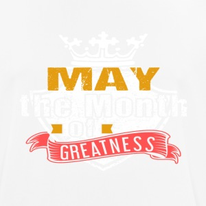 Month of Greatness MAY - Men's Breathable T-Shirt
