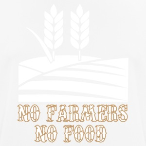 No Farmers - N0 Food - Männer T-Shirt atmungsaktiv