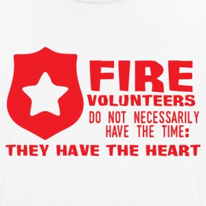 Fire Department: Fire volunteers do not Necessarily have - Men's Breathable T-Shirt