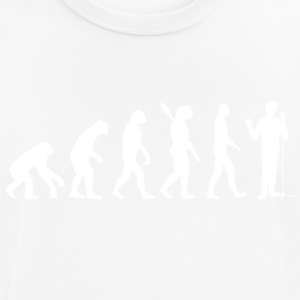 Evolution singing singer singing w - Men's Breathable T-Shirt