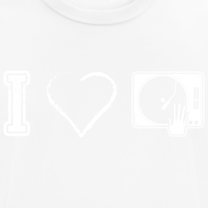 I love DJ Deejay Deejane Djing - Men's Breathable T-Shirt