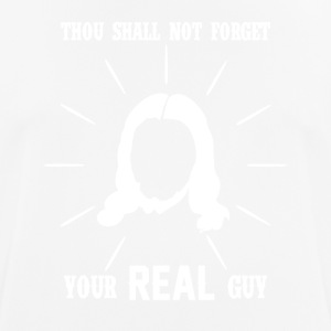 Thou Shall not Forget - Jesus - Men's Breathable T-Shirt