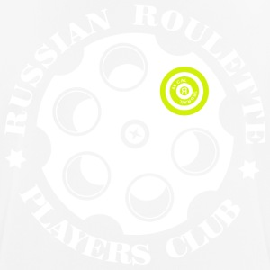 Russian Roulette Players Club logo 4 Black - Andningsaktiv T-shirt herr