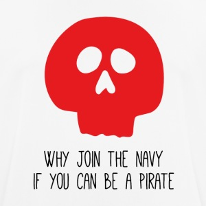 WHY JOIN THE NAVY - Männer T-Shirt atmungsaktiv