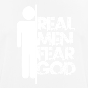 Real Men Fear God - Männer T-Shirt atmungsaktiv