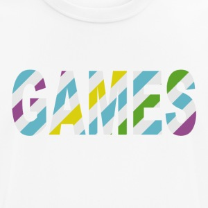 Game Stripes - mannen T-shirt ademend