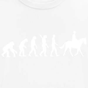 Evolution Riding Horse w - Men's Breathable T-Shirt