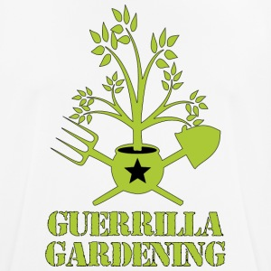 Guerrilla gardening logo military style T-shirt - Men's Breathable T-Shirt