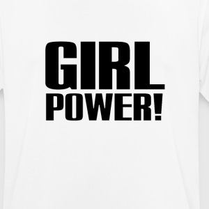 Girl Power Logo Black - Camiseta hombre transpirable
