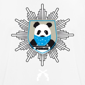 Panda coat of arms wanted pistole officially hooded lo - Men's Breathable T-Shirt