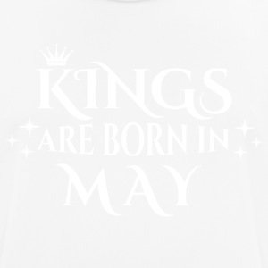 Kings are born in May - Männer T-Shirt atmungsaktiv