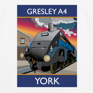 Gresley A4 Train - Men's Breathable T-Shirt