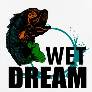 Wet Dream - Vissen - mannen T-shirt ademend