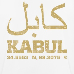 Kabul Afghanistan coordinates T-Shirt - Men's Breathable T-Shirt