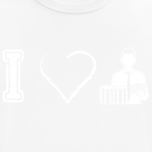 I love poker poker - Men's Breathable T-Shirt
