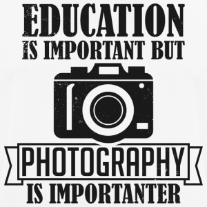 Photography is importanter - Men's Breathable T-Shirt