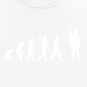 Evolution Soldier! Soldier! Warrior! Warrior! army - Men's Breathable T-Shirt