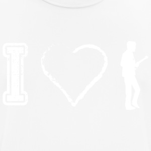 I love musician - Men's Breathable T-Shirt