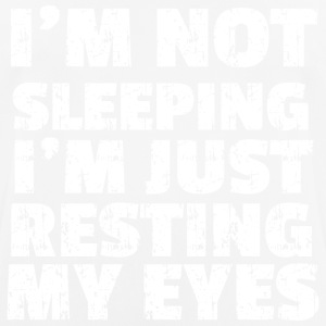 NOT SLEEPING - Männer T-Shirt atmungsaktiv